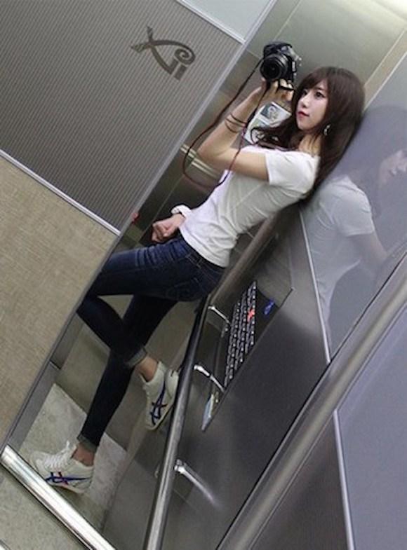 ท่าบริหารต้นขา สาวเกาหลีน่ารัก10