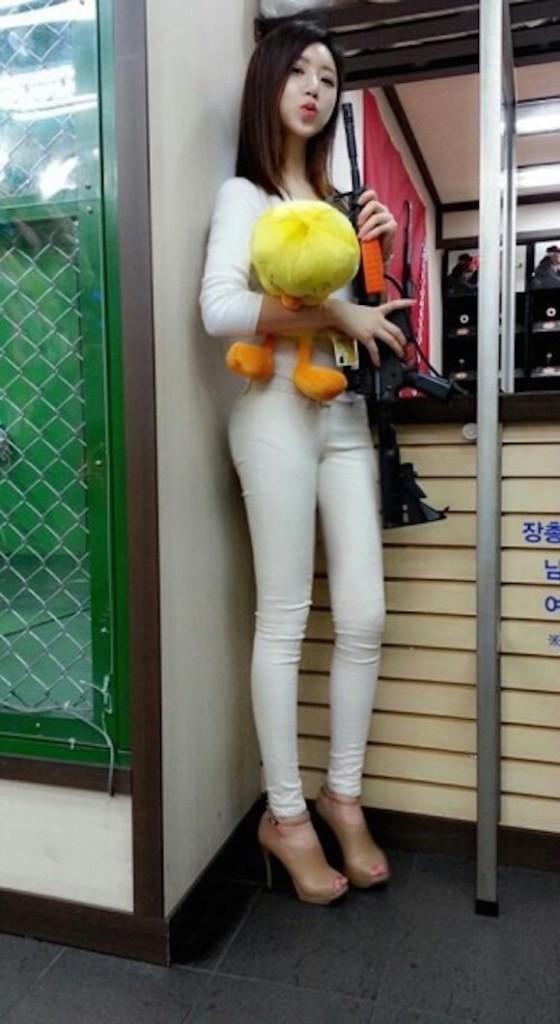 ท่าบริหารต้นขา สาวเกาหลีน่ารัก12