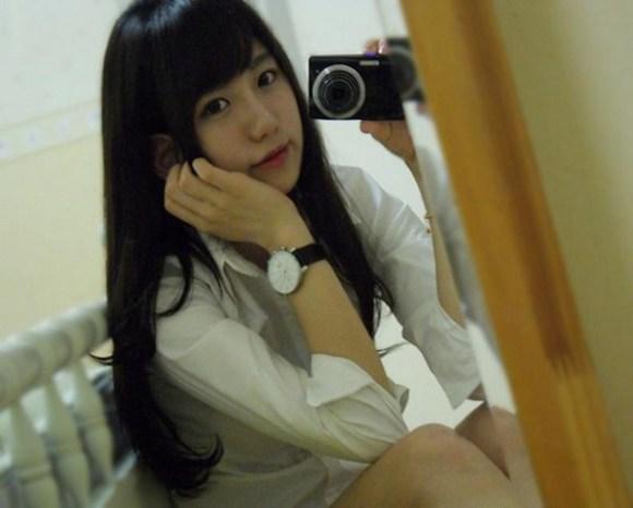 ท่าบริหารต้นขา สาวเกาหลีน่ารัก3