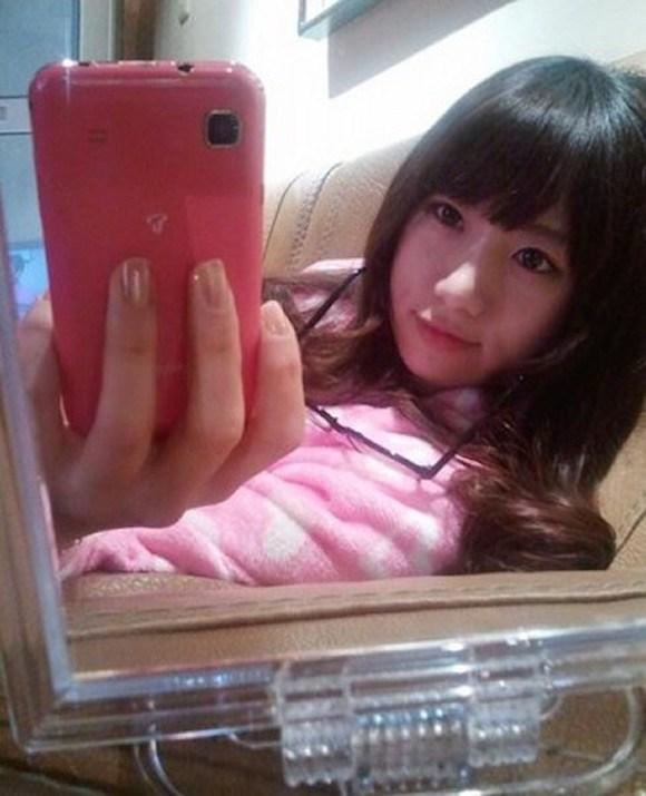 ท่าบริหารต้นขา สาวเกาหลีน่ารัก4