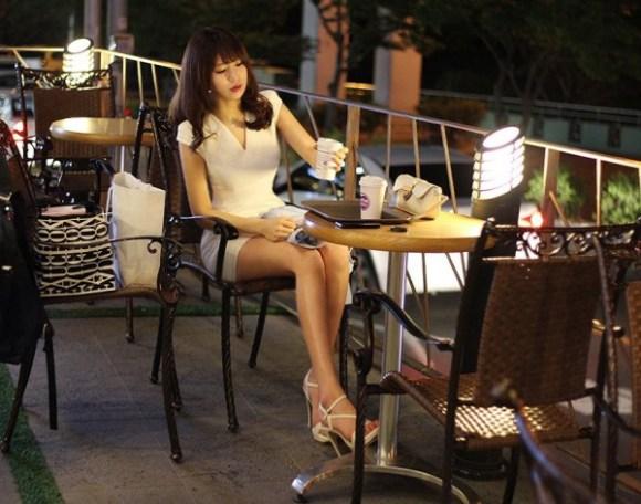 ท่าบริหารต้นขา สาวเกาหลีน่ารัก9