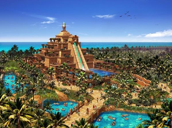 สุดยอดสวนน้ำ น่าเที่ยวที่สุดในโลกอาหรับอามิเรต2.1