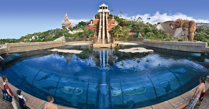 สุดยอดสวนน้ำ น่าเที่ยวที่สุดในโลก สเปน 1