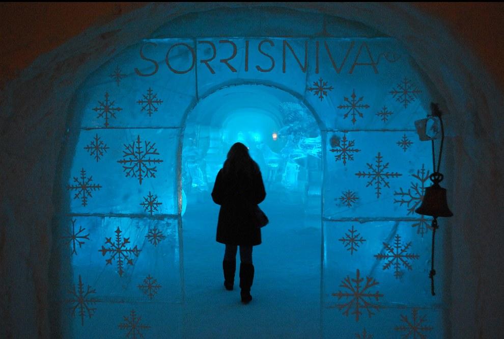 นอร์เวย์โรงแรมน้ำแข็ง