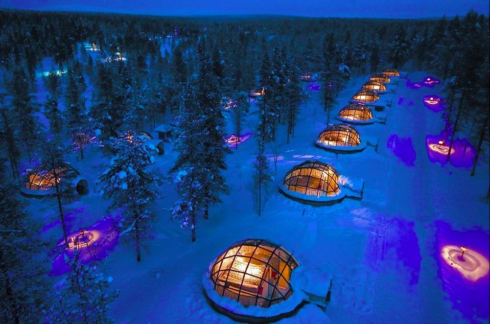 Finlandโรงแรมน้ำแข็งแปลกๆ