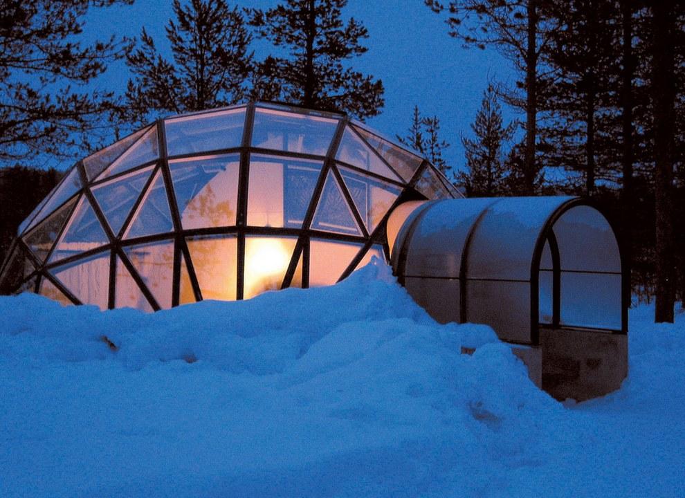Finlandโรงแรมน้ำแข็งแปลกๆ3
