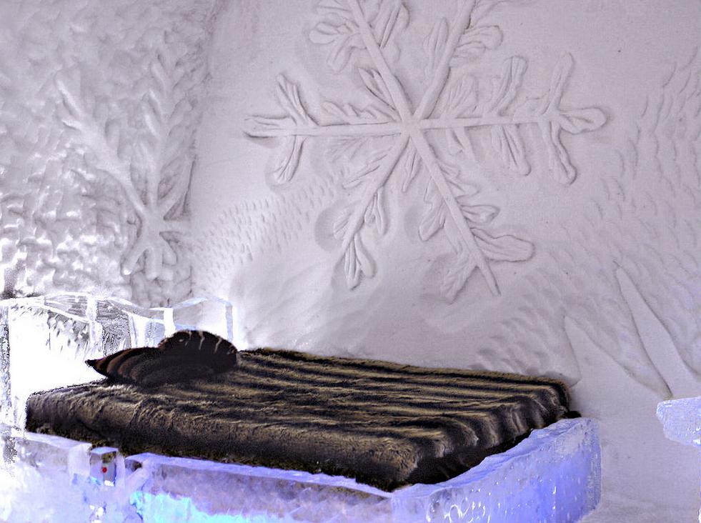 The Hotel de Glace โรงแรมน้ำแข็งแปลกๆ2