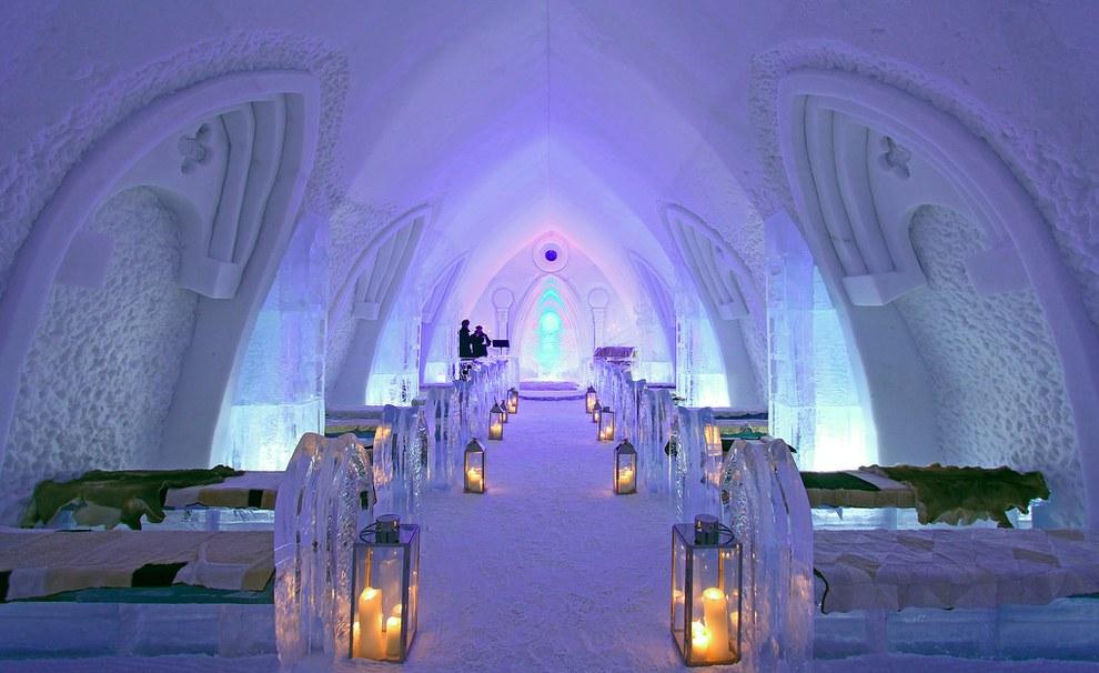 The Hotel de Glace โรงแรมน้ำแข็งแปลกๆ3