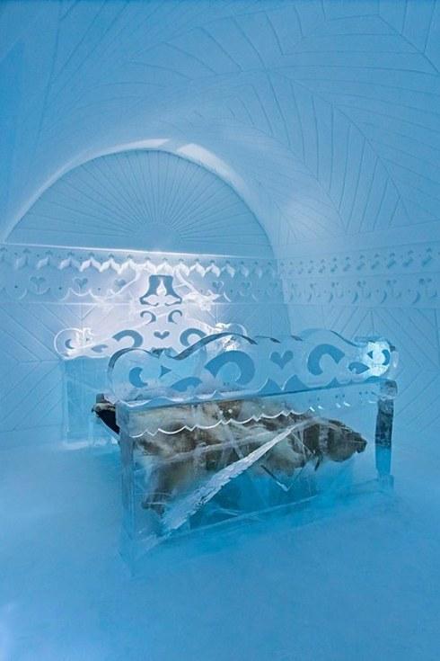 The Icehotel โรงแรมน้ำแข็ง2