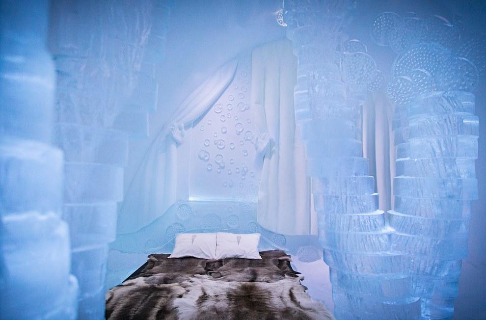 The Icehotel โรงแรมน้ำแข็ง3