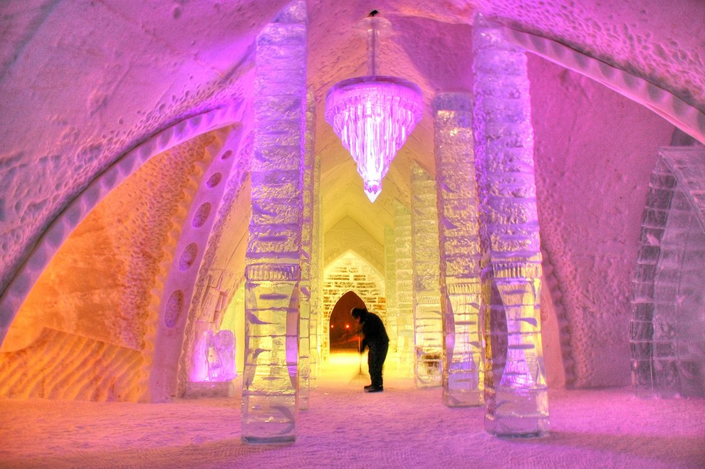 The Icehotel โรงแรมน้ำแข็ง6