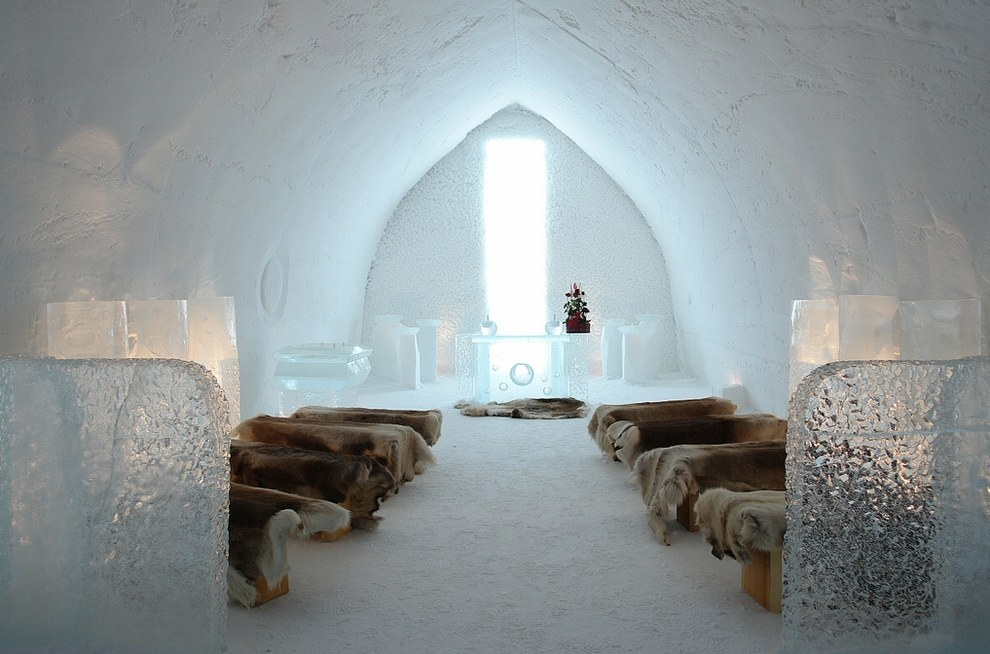 The SnowVillage Snow Hotel โรงแรมน้ำแข็ง2